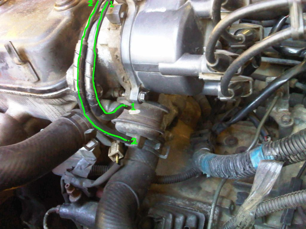 Aisan    carburetor     which port for    vacuum    advance  Engine Troubleshooting