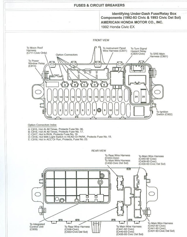 Civic1 fuse box diagram eg civic fuse wiring diagrams instruction 1993 honda civic wiring diagram at mifinder.co