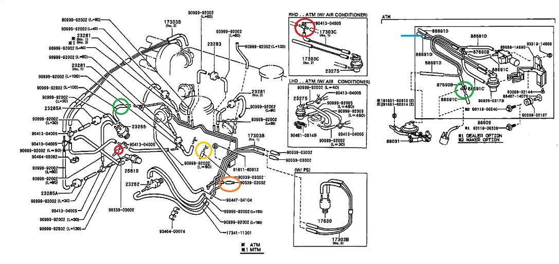 corolla 39 93 2e ee100r vacuum lines engine troubleshooting. Black Bedroom Furniture Sets. Home Design Ideas